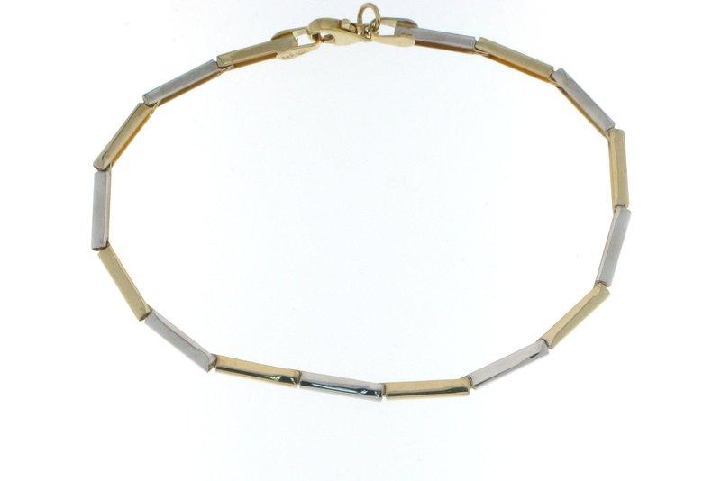 Kultainen rannekoru M119 - Kellopuoti.fi e0b2d71437