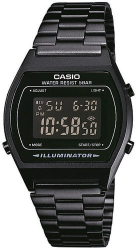 Casio musta retro digitaali rannekello B640WB-1BEF