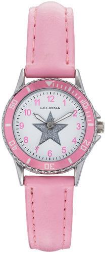 Tyttöjen vaaleanpunainen Leijona tähti rannekello 5323-834 ... d09d041408