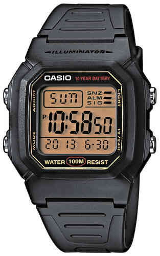 Casio digitaalinen musta rannekello