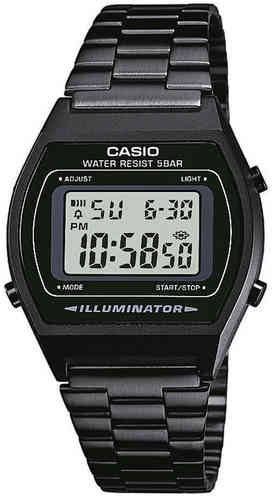 Casio musta digitaali rannekello