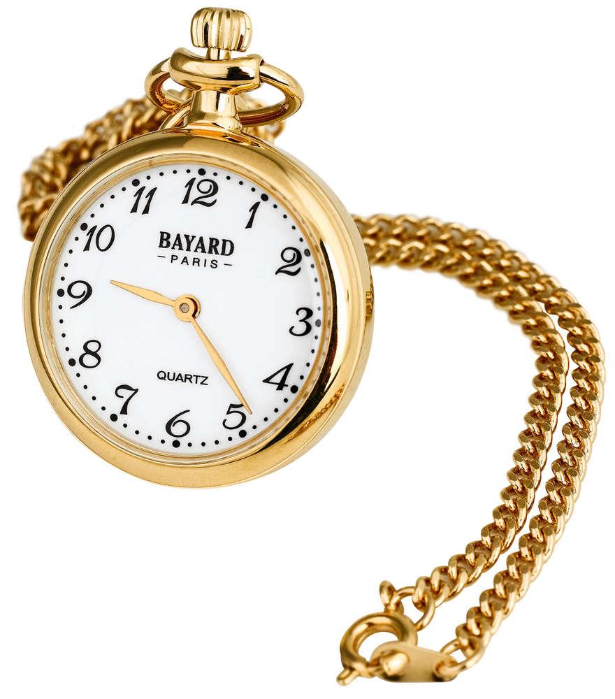 Bayard kaulakello selkeällä kellotaululla TX36 kulta - Kellopuoti.fi e454e55d2b