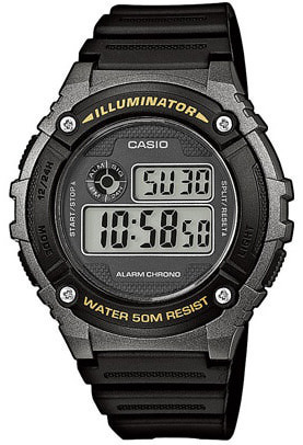Casio Collection rannekello Illuminator W-216H-1BVEF