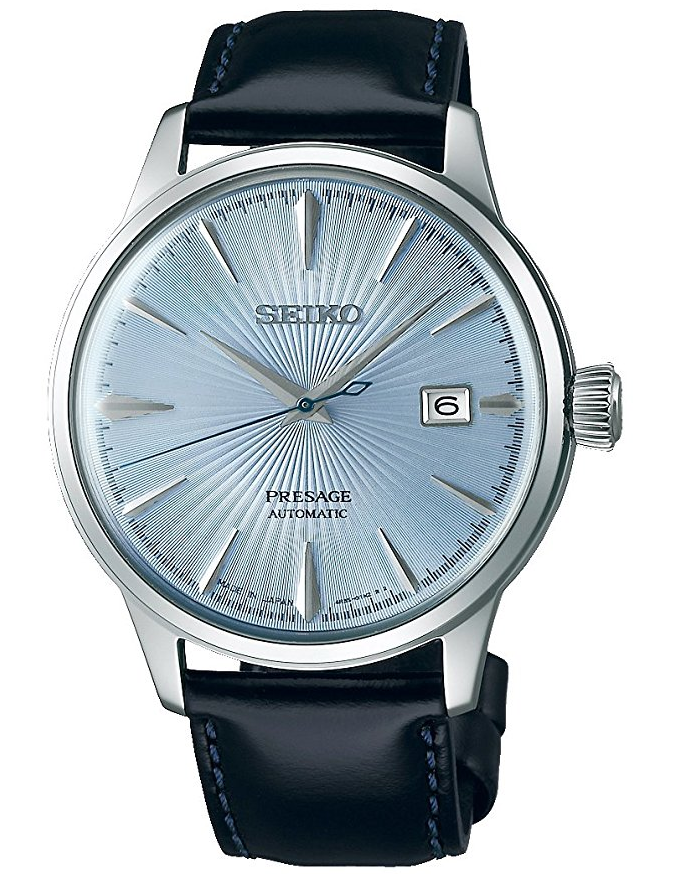 Seiko Presage Automatic Cocktail Blue rannekello