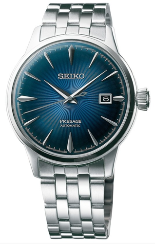 Seiko Presage Automatic Cocktail Blue Moon rannekello SRPB41J1
