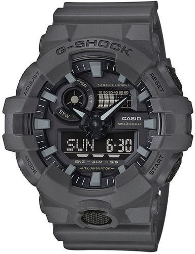Casio rannekello G-Shock Utility Color, harmaa