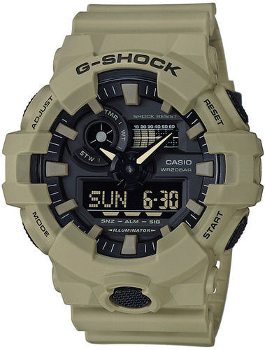 Casio rannekello G-Shock Utility Color, vaalea