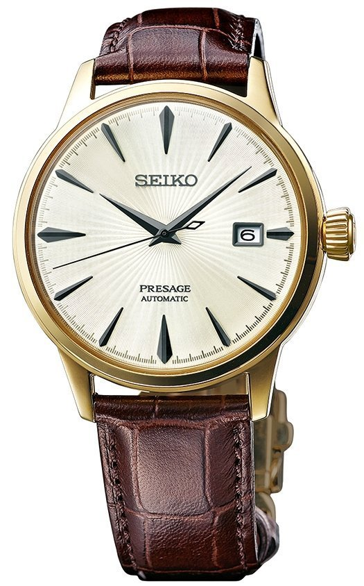 Seiko Presage Automatic Cocktail Time Margarita rannekello