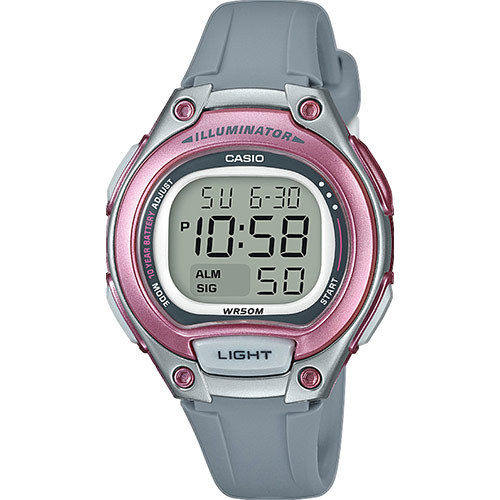 Casio Collection nuorten rannekello digitaalinäytöllä  LW-203-8AVEF
