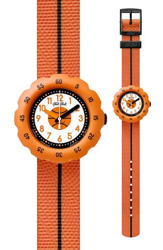 Oranssi lasten koripallo rannekello Flik Flak dccae4077f