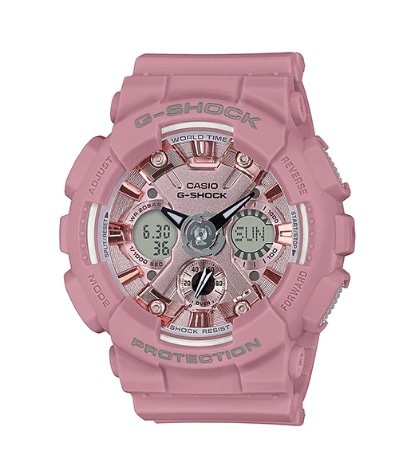 Casio G-Shock pink Limited GMA-S120DP-4AER