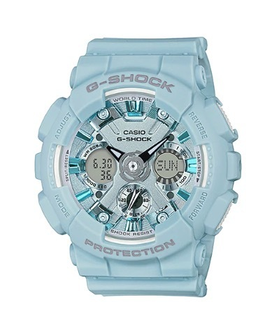 Casio G-Shock vaaleansininen Limited GMA-S120DP-2AER