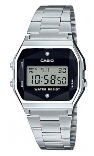 Casio Retro collection 2:lla timantilla A158WEAD-1EF