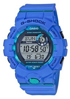 G-Shock G-Squad digital GBD-800-2ER Bluetooth + Step Tracker