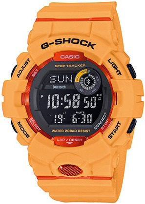 G-Shock G-Squad digital GBD-800-4ER Bluetooth + Step Tracker