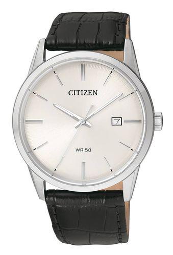 Uusi Citizen nahkaranteinen teräskuorinen rannekello BI5000-01A ce94b05408