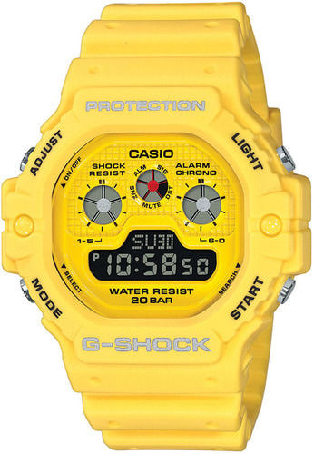 Casio G-Shock Hot Rock Sounds raikas keltainen rannekello DW-5900RS-9ER (viimeinen kappale)