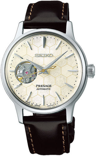 "Seiko Presage Cocktail Star Bar Limited Edition ""Honeycomb"" SSA781J1"